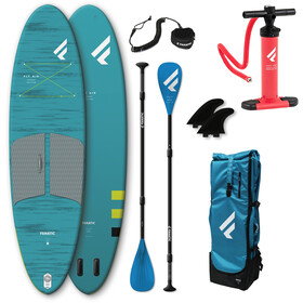 """Fanatic Fly Air Pocket/Pure SUP Package 10'4"""" Inflatable SUP with Paddle and Pump"""